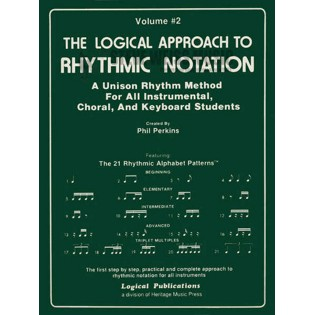 perkins-logical approach to rhythmic notation vol. 2