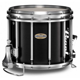 pearl carbonply championship marching snare drum