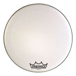 remo powermax marching bass drum head