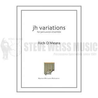 jh variations by rich o'meara | percussion ensemble music