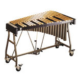 musser 3.0 gold pro-traveler vibraphone with motor