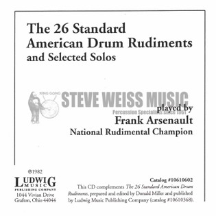 arsenault-twenty-six standard rudiments (cd)