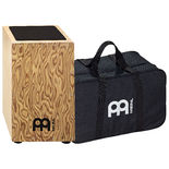 meinl makah-burl string cajon with bag