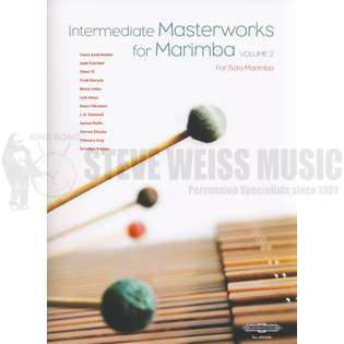 zeltsman-intermediate masterworks for marimba volume 2