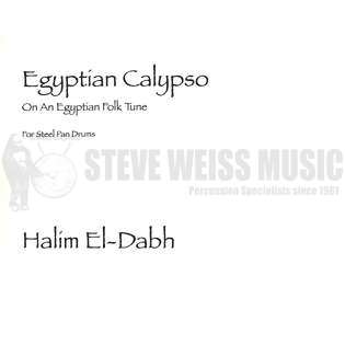 el-dabh-egyptian calypso (score only)-steel drum ensemble