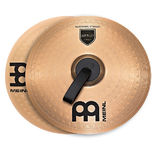 "meinl 16"" marching bronze cymbal pair"