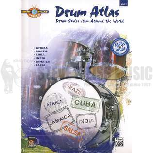 sweeney/jain/marshall-drum atlas complete-volume 1 (w/mp3 cd)