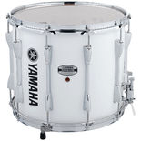 yamaha power-lite marching snare drum -  white - 14x12