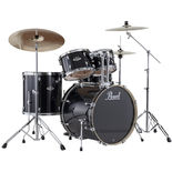 Pearl EXX Export Fusion Drum Set with 22″ Bass Drum and Hardware Alternate Picture