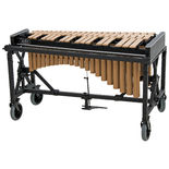 adams 3.0 octave concert series gold vibraphone with field frame (no motor)