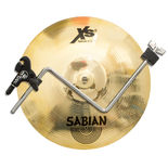 "sabian 12"" xs20 splash cymbal with lp splash claw"