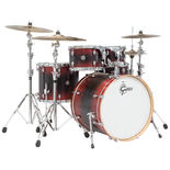 gretsch catalina ash 5 piece euro shell pack drum set