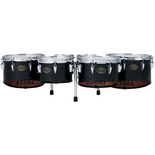 tama birch bubinga marching tenor set