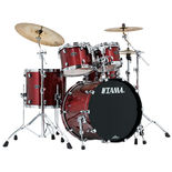 "tama starclassic performer 4 piece shell pack with 22"" bass drum"