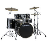 "yamaha stage custom birch drum set with hardware - 22"" bass drum"