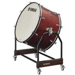 "yamaha grand series 36""x22"" concert bass drum with stand and cover"