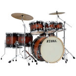 "tama superstar 7 piece shell pack with 22"" bass drum"