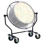 pyle percussion all terrain suspended bass drum stand