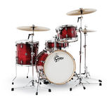 gretsch catalina club jazz 3 piece drum set shell pack