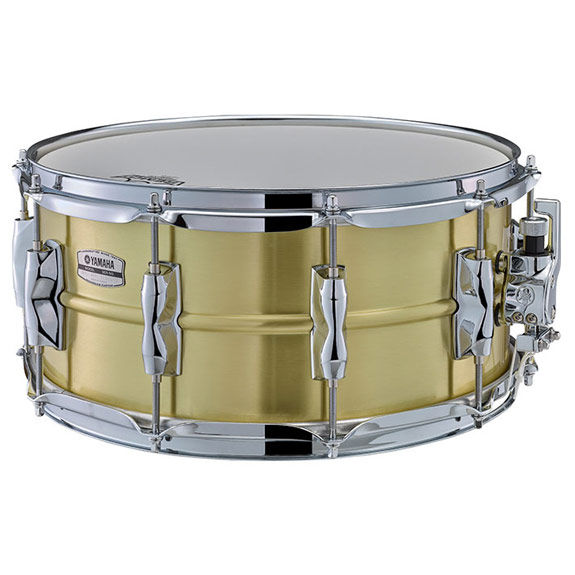 Yamaha recording custom brass snare drum 14x6 5 metal for Yamaha stage custom steel snare drum 14x6 5