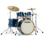 "tama silverstar 5 piece shell pack - 22"" bass drum"