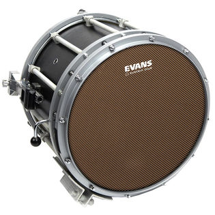 "evans 14"" system blue marching snare drum head"