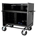 pageantry innovations mc-20 double mixer cart