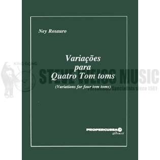 rosauro-variations for four tom-toms-p