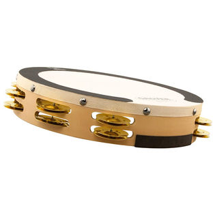 "grover 10"" sv double row tambourine"