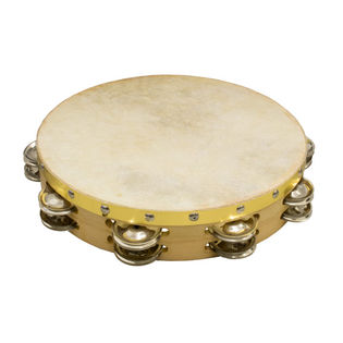 "weiss brand 10"" double row tambourine"
