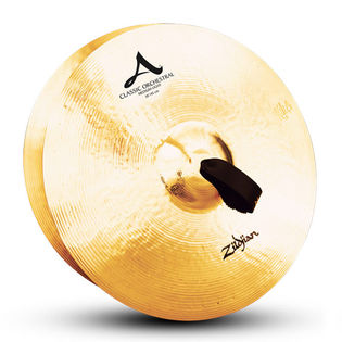 "zildjian 18"" classic orchestral selection med light cymbal pair"
