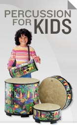 Drums and Percussion for Kids.