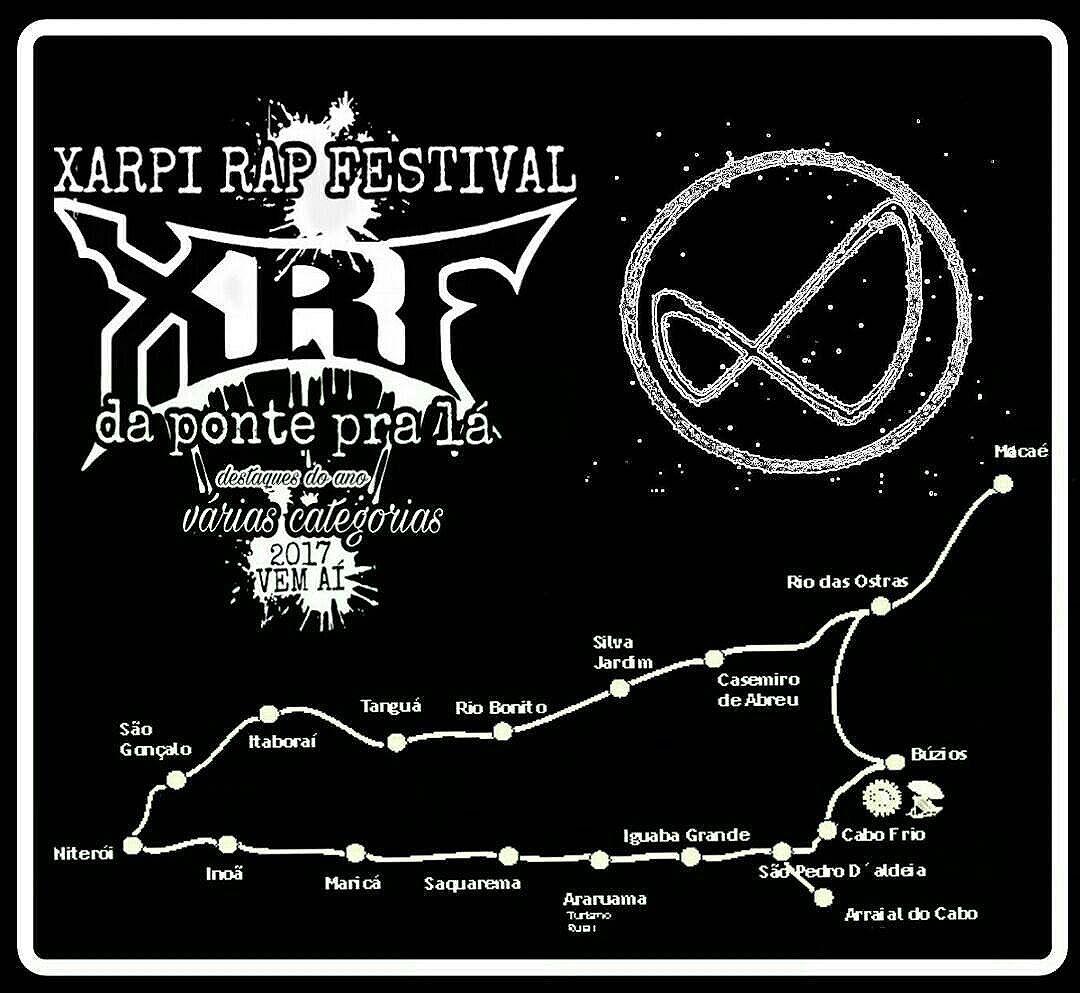 """Já estamos trabalhando para atravessar a Ponte e levar pela primeira vez o maior festival do Xarpi Carioca!  XARPI RAP FESTIVAL """" DA PONTE PRA LÁ """"  Apoio : @hofmannstreetart  5ORIGINAL DA RUA. ORIGINAL DO RIO. ANTIGOS & ATUAIS. ALÉM DOS MUROS. NADA MUDARÁ NOSSA CONDUTA.  #5estrelas #originaldorio #bondedovuca #terrordorio #pixacaocarioca #vandals #underground #uniaodetribos #alemdosmuros #antigoseatuais #originaldarua #streetartrio #urbanart #vandalismo #mutiraodotrabalhador #xarpirapfestival #pixo #xarpi #rap #graffiti #fivestars #tudo5 #midia #tag #culturaderua #riodejaneiro #021 #brasil"""