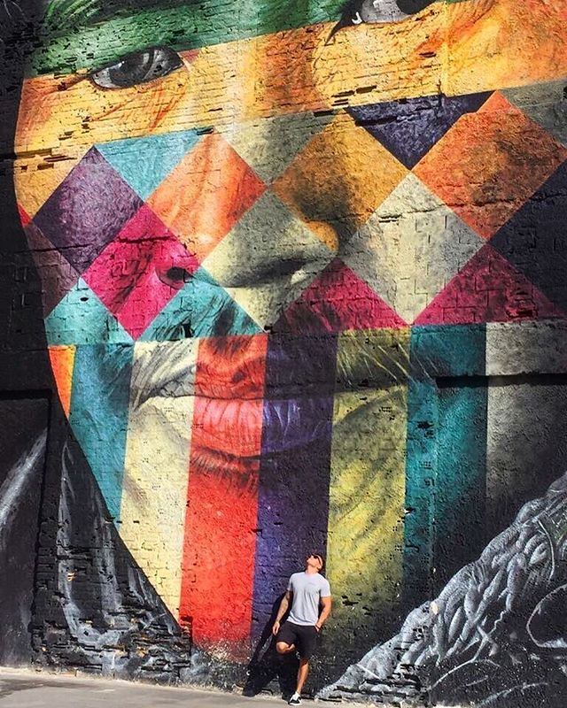 We are all One. .  @kobrastreetart . #abstract #art #kobra #artists #urbanart #todossomosum #artderua #arteurbana #streetartrio #etnies #rj #maua