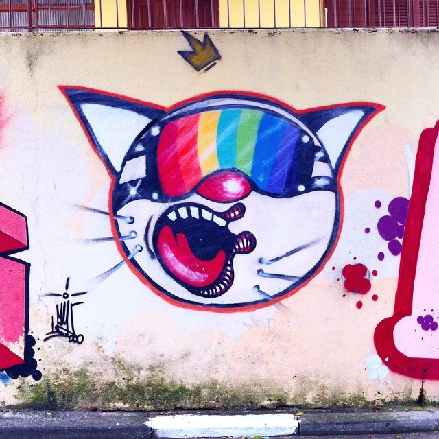 Compartilhado por: @streetartsaopaulosampa em May 21, 2015 @ 10:20