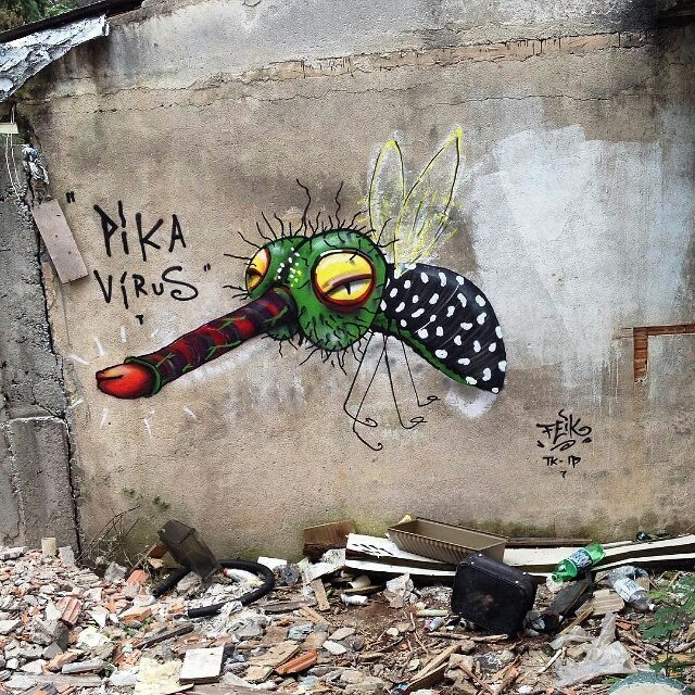 "@feik_frasao нарисовал ""Pika Vírus"" в Сан-Паулу. #feik #graffitisp #graffitisaopaulo #streetartsp #streetartbr #igersbrazil #ig_brazil #graffitibrazil #graffitibrasil #граффити_tschelovek #streetart #urbanart #graffiti #mural #стритарт #граффити #wallart #graffitiart #art #paint #painting #artederua #arteurbana #graffiticulture #streetart_daily #streetarteverywhere"