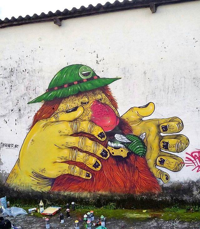 Compartilhado por: @tschelovek_graffiti em Mar 27, 2016 @ 12:33
