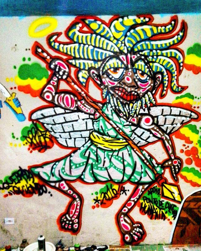 """#dpraz em Ação no Evento """" Quebrada Quilombo / Quilombo Quebrada"""". Em Jardim Pantanal, São Paulo-SP  #dpraznãopara #danyahupraz #dancoliveira #danielpraz  #intervencaourbana #arteurbana #artederua #sprayarte #colorginarteurbana #noucolors #artesvisuais #urbanart #streetart # #sprayart #visualarts #instapainting #instastreetart #streetartbrazil #streetartsp #streetartworldwide"""
