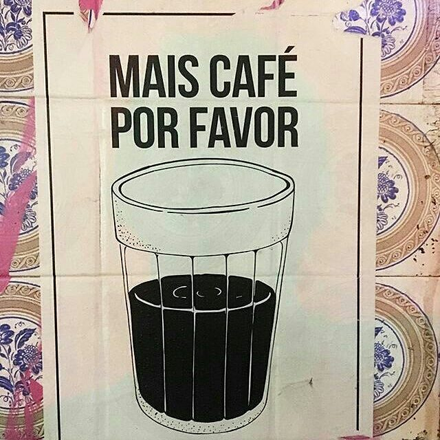 Bom dia. Mais café por favor. Good Morning. More coffee please. #Repost de @olheosmuros @pamellarenha #desapercebidonodiaadia #instagram #instagood #nofilter #gosteifotografei_ #streetphotographer #urban #fotografiaderua #fotourbana #picture #picoftheday #tvminuto #vejasp #streetartsp #sp #spcity #instasp #SaoPaulo #ilovesp #sampacity #sampa #brasil #brazil #instagrambrasil