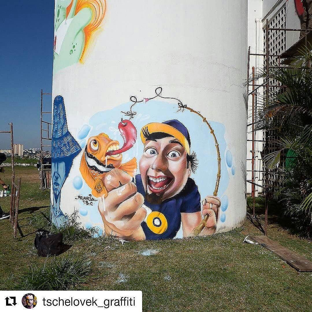 #Repost @tschelovek_graffiti (@get_repost) ・・・ @robsonmelancia in Carapicuiba, SP, Brazil for #meetingofchurras. Photo by  @sidaograff. #robsonmelancia #Carapicuiba #saopaulograffiti #graffitisp #graffitisaopaulo #streetartsp #streetartbrazil #streetartbrasil #streetartbr #brazilstreetart #graffitibrasil #brasilgraffiti #brazilgraffiti #graffitibrazil #streetart #urbanart #graffiti #wallart #graffitiart #wallpainting #muralpainting #artederua #arteurbana #muralart #streetarteverywhere #total_urbanart