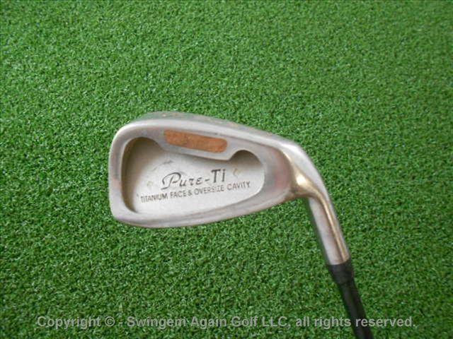 PURE-GOLF-PURE-TI-OVERSIZE-5-IRON-Graphite-Shaft-REGULAR-FLEX-AVERAGE-Used-Golf