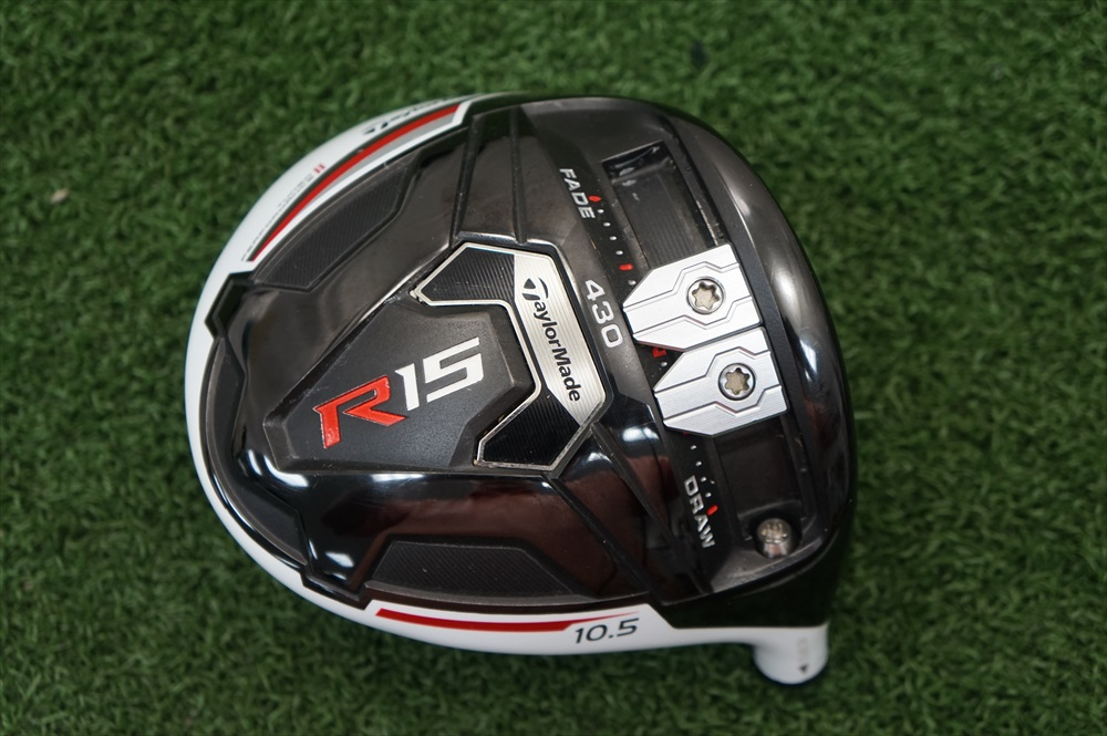 TAYLORMADE R15 430 10.5* DRIVER HEAD ONLY GOOD CONDITION ...