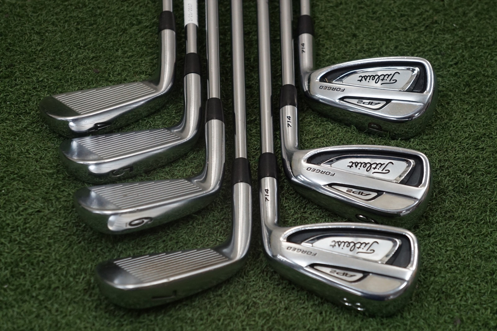 Titleist AP2 714 Steel Iron Set Stiff Flex Irons 4 PW