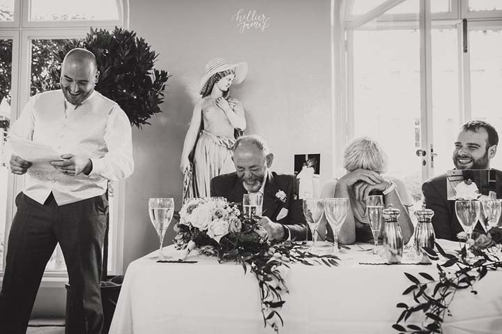 Groom's Speech - photo by Hiller James