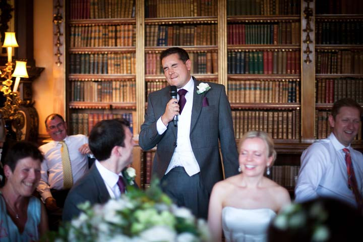 Groom's Speech - photo by Susie Mackie