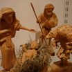 Soft Wood Nativity Scene
