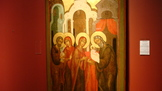 Russian Icon Presentation of Jesus 1350