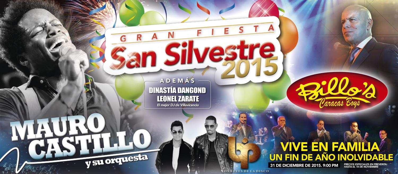 Gran Fiesta De San Silvestre 2015