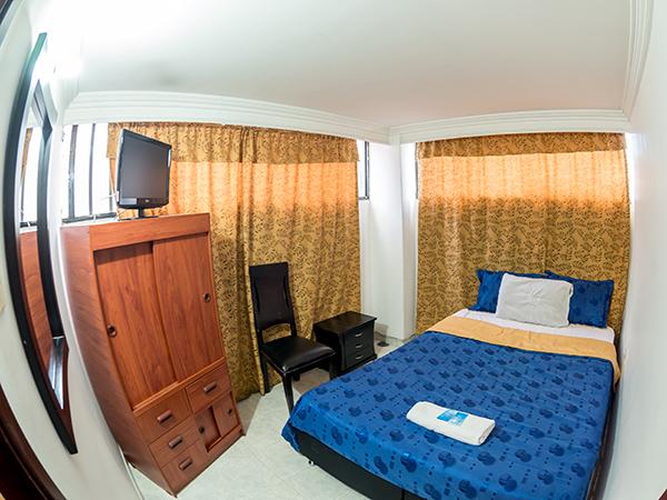 Habitaci n doble en hotel elegant suite normand a for Comedor japones bogota