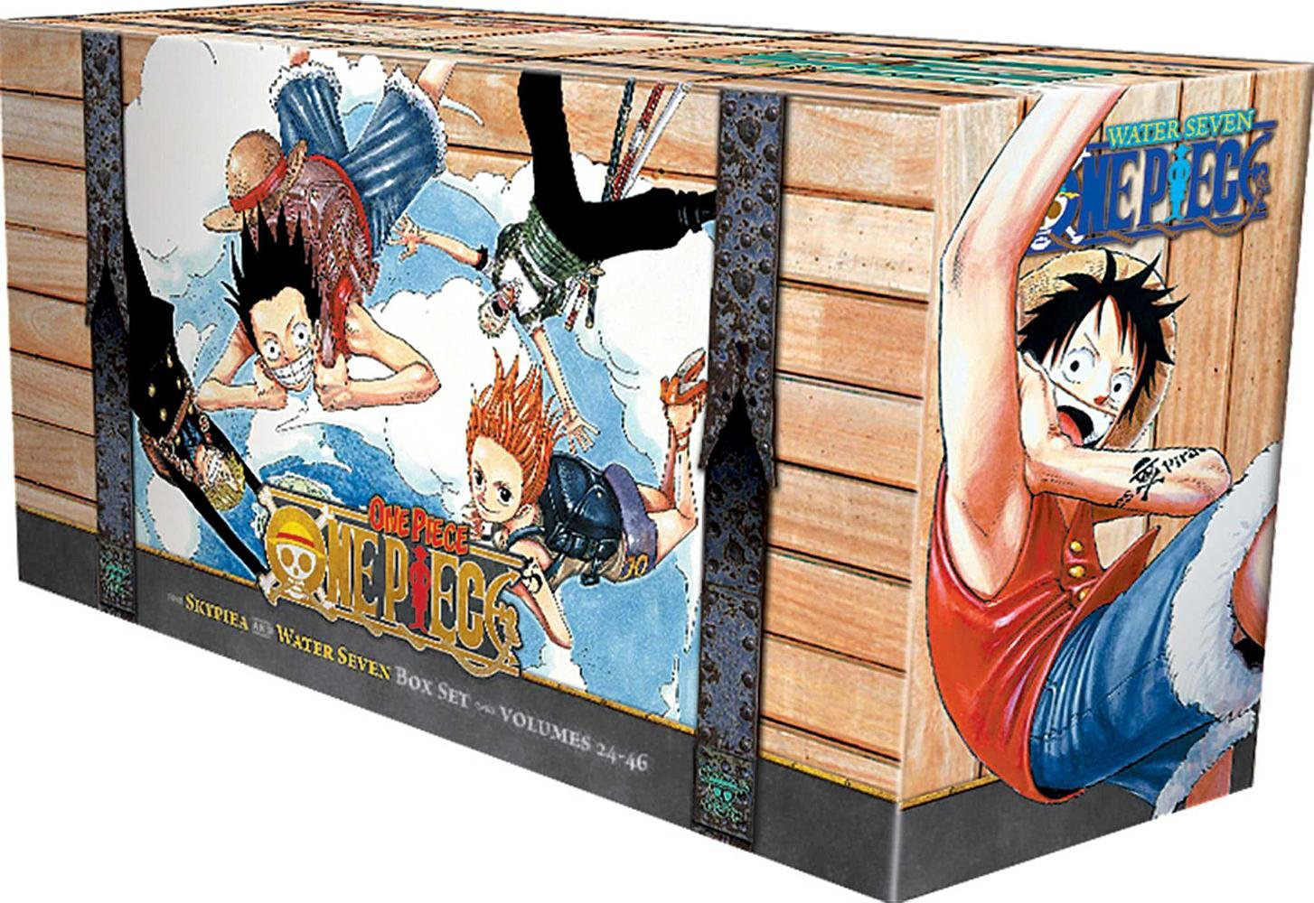 Skypiea and Water Seven, Volumes 24-26 (Box Set)
